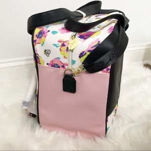 Betsey Johnson Bags - Betsey Johnson Two Piece Floral Weekender Bag